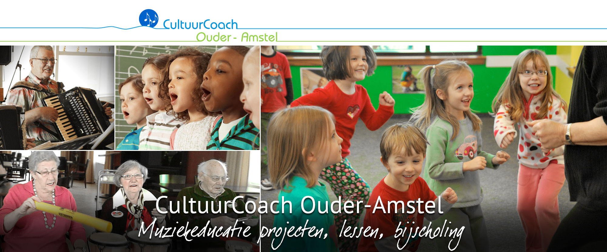 Cultuurcoach Ouder-Amstel muziekeducatie gesubsidieerd door de gemeente