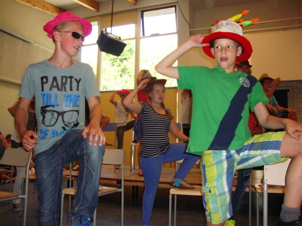 Cultuurcoach muziekproject Amstelschool